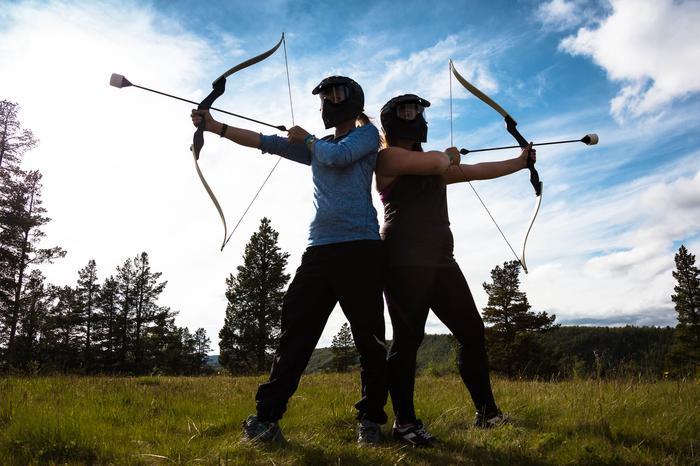 Middeleeuwen - Archery Tag