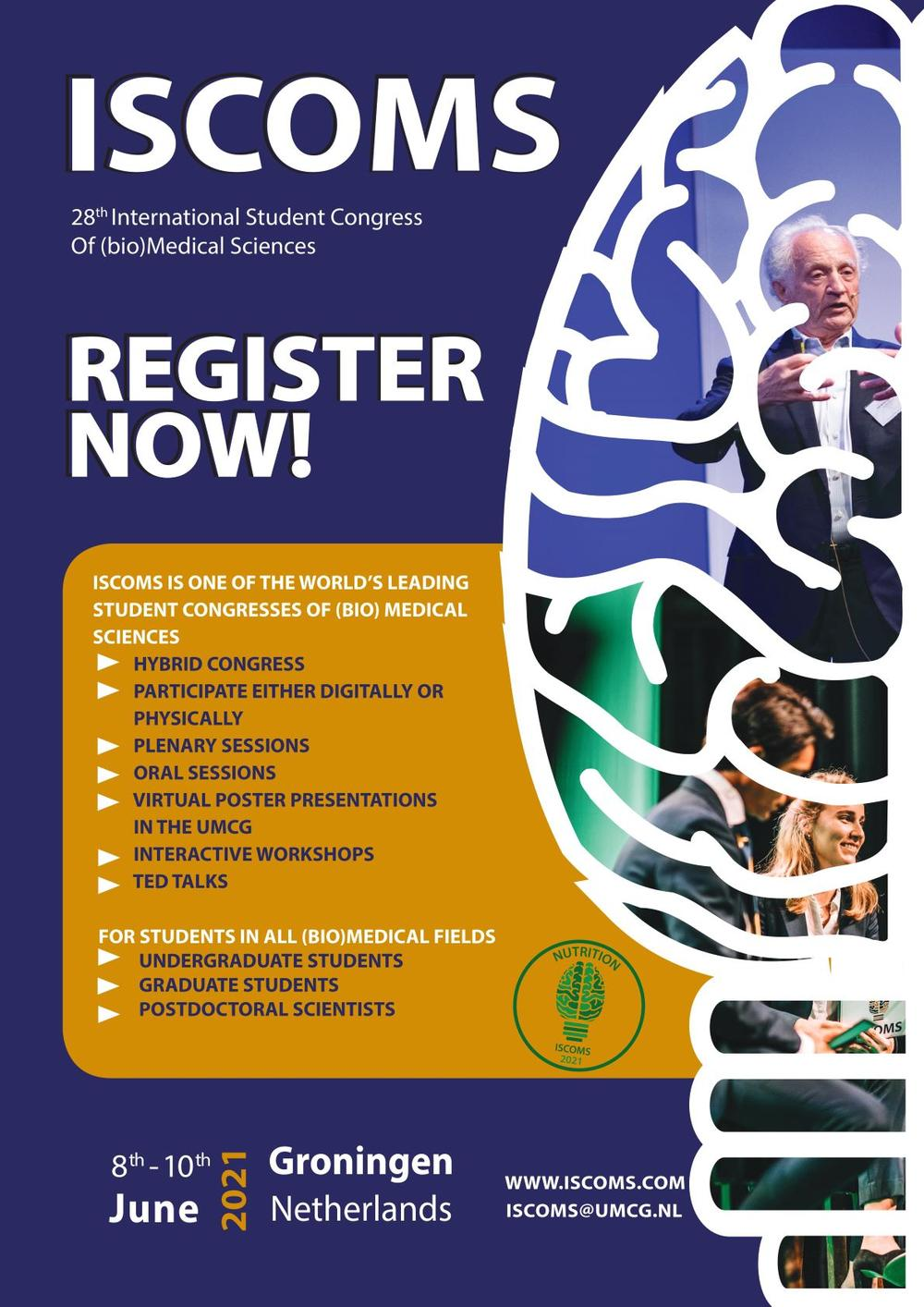 International Student Congress Of (bio)Medical Sciences (ISCOMS)